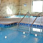 Enjoy our accommodations including our large indoor swimming pool, hot tub, and fitness room!!