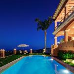 Night pool The Marbella Heights Boutique hotel
