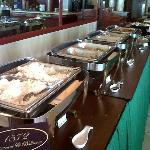 Buffet breakfast