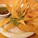 Chips & Guacamole with a Flourish