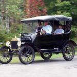 The Museum offers free Model T rides during special events