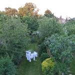  View from the rear bedroom over the gardens of Lewisham