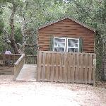 There are 3 cabins available at North Beach Camp Resort
