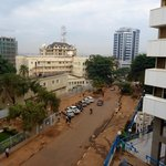 View from Room 312 towards Kampala Road