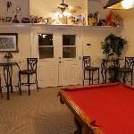 Game room with billiards, darts, and more!