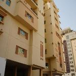 Outside view of Ramee Suites 4