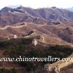 the Gubeikou Winding Dragon Great Wall in Spring