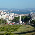  Over Lisbon from Parque Eduardo 7