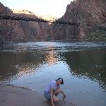 Bridge we came in on and Colorado River