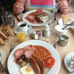 Full English breakfast - amazing