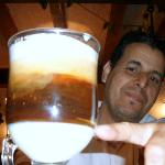  Mustafa &amp; the excellent Barraquito, a must have after dinner drink!!