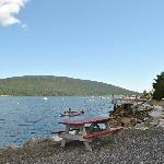Somes Sound from the campground