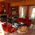  The guest sitting room