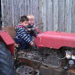 hands on tractor play