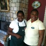 Ann Marie and Dotline the best maids and cooks! Love Ya'll