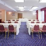 Meeting room at the Holiday Inn Express & Suites-D