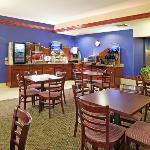 Breakfast Area at the Holiday Inn Express & Suites