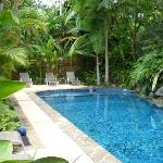 Pool at Coral Sea Villas