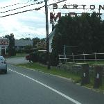 Barton's sign from Union avenue.
