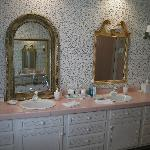 Two Sink Large Bathroom Vanity