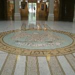 Main lobby of the Capitol/Roundhouse in Santa Fe