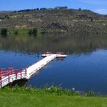 The Deck on lake Pateros/Columbia River