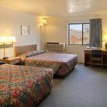Standard Two Double Bed Room with Micro/Fridge