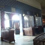 Dining room, nicely decorated but without supporting cuisine