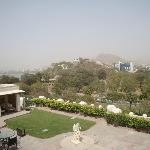 View of Ana Sagar lake from the top