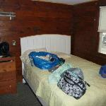  Our bedroom in cabin #8