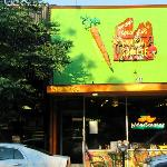This is the spot to savor some mighty fine vegetarian and vegan fare.