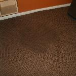  Big stain on carpet