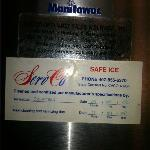  ice maker maintenance tag