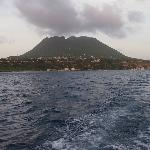 Statia from the water