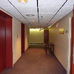  Hallway and elevators.