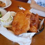 Molly's Famous Fish n Chips、Halibut