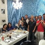 Party in Romulo's Blue Room