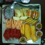  Complimentary breakfast: variety of fresh fruits