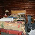 Master Bedroom - double bed Cabin 11