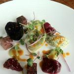 Black pudding starter