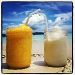 Mango Shake and Buko Shake