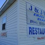 J & J Seafood - one of the best seafood restaurants I've dined at anywhere