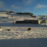  Out the front of the Chalet overlooking the Front Valley Perisher