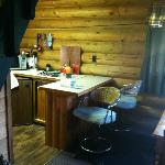 Kitchen/dining in Cabin #1