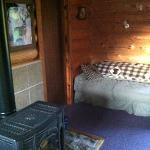 Bottom floor of cabin #1