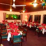  Christmas theme in Restaurant