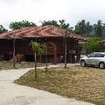 Chalet huts, Lembing Riverview Resort