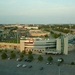 View from the room (Stadium & Highway 417)