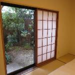 private garden of Sakura room