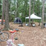  1st tent camping site